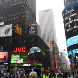 Menschen, überall Menschen – Volles New York City