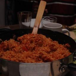 Nigerianischer Jollof-Reis
