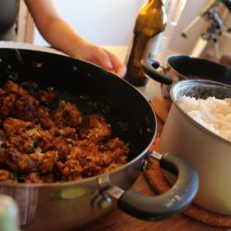 Gobi Manchurian – Fritierter Spitzkohl aus Indien