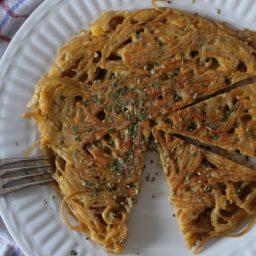 Frittata di Spaghetti – Ein Omelett der italienischen Art