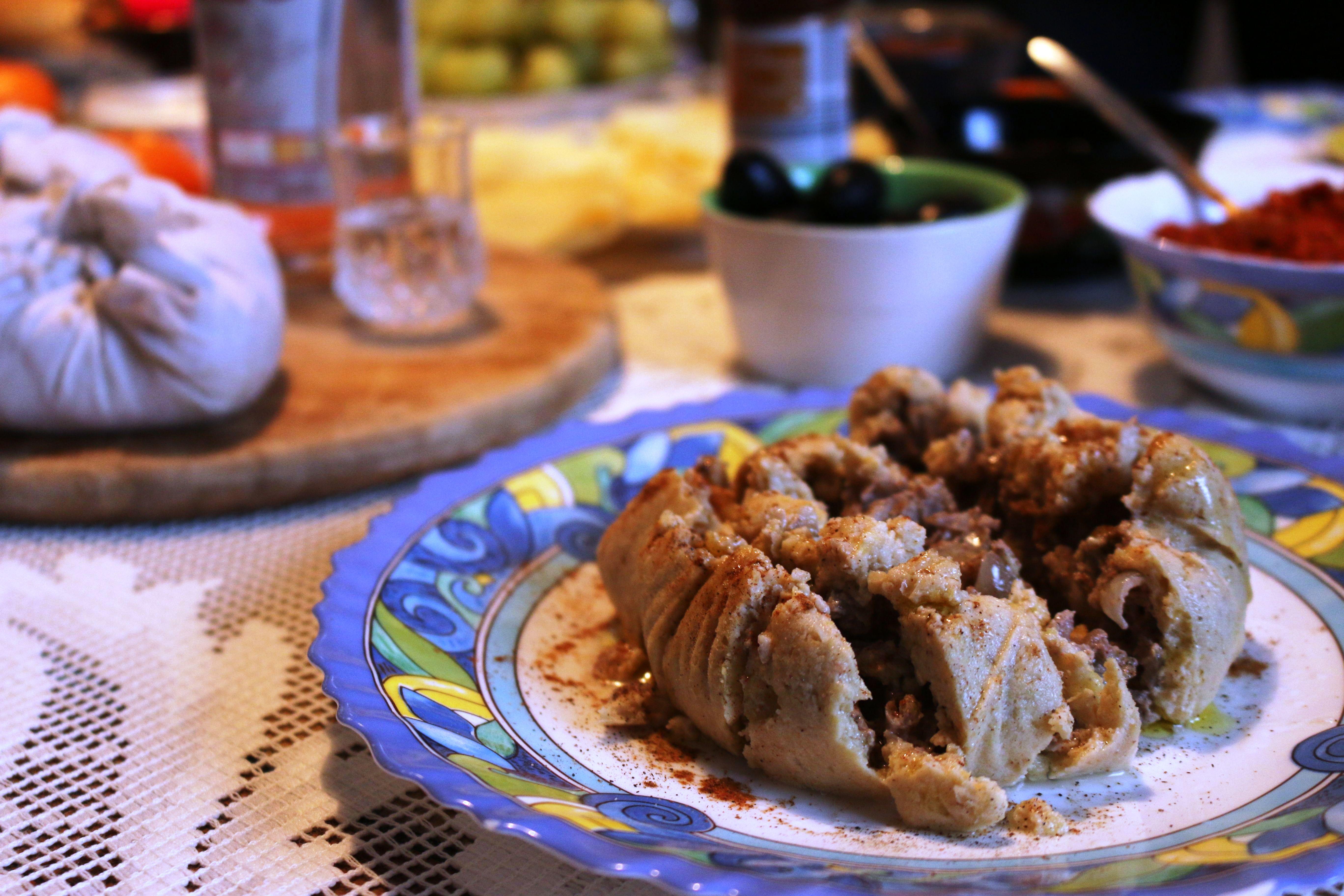 Topik - Armenische Veggie-Kichererbsen-Täschchen