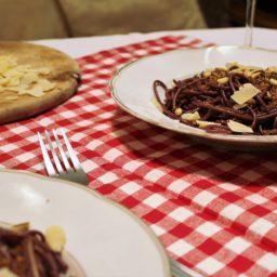 Gli Spaghetti dell'Ubriacone – Italienische Rotweinpasta