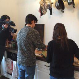 Ich war im Fernsehen! Kochen mit dem Offenen Kanal