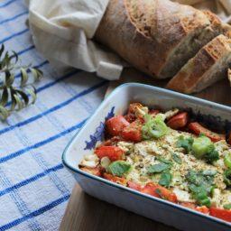Gebackener Feta im Tomaten-Rahmen – Jassu, Griechenland!