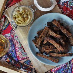 Zum Snacken: Kepta Duona – Litauisches Knoblauchbrot