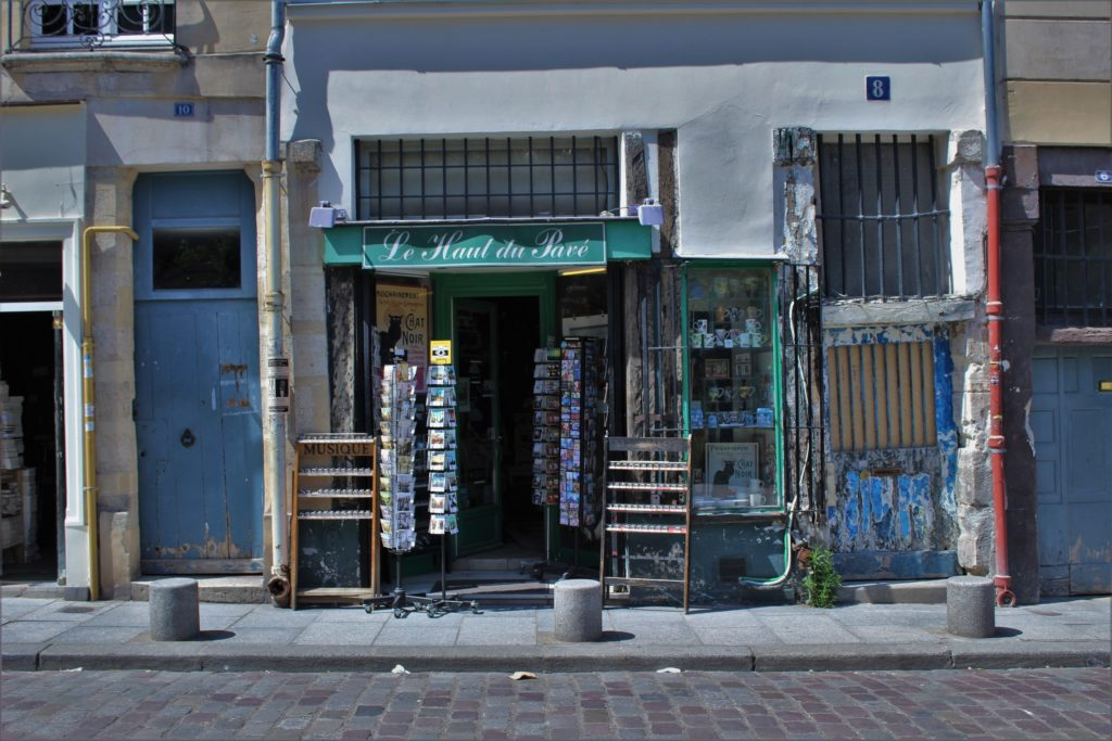 ReiseSpeisen Paris Frankreich Laden