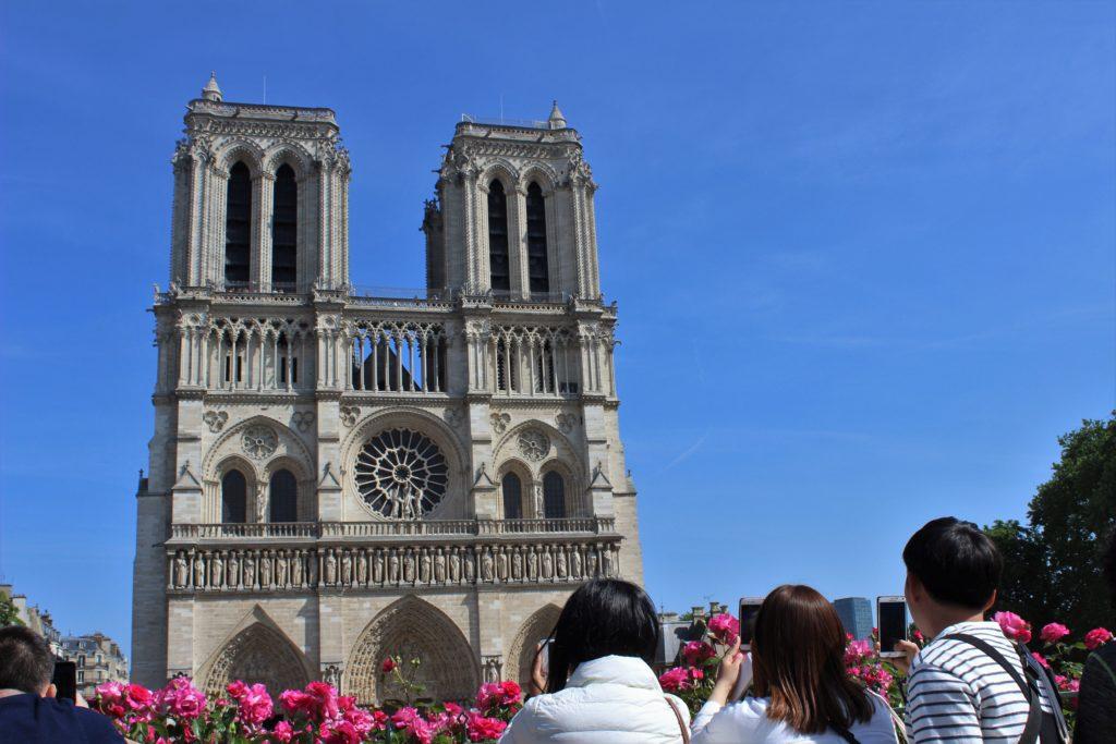 ReiseSpeisen Paris Frankreich Notre Dame