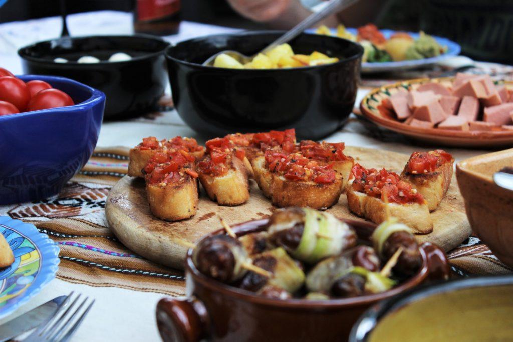 ReiseSpeisen Spanien Tapas Bruschetta