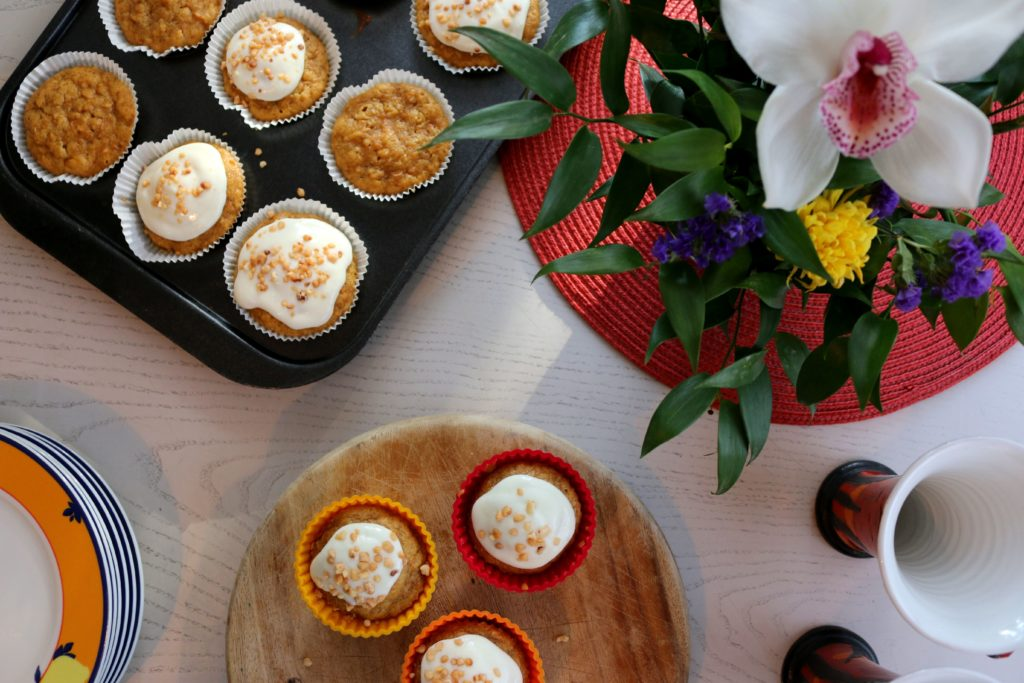 ReiseSpeisen Carrot Cake Muffins England