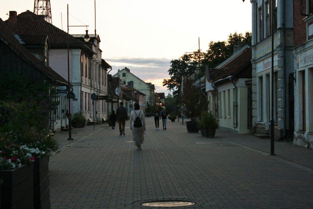ReiseSpeisen Kuldiga Lettland Altstadt