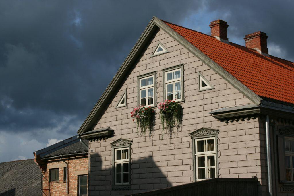 ReiseSpeisen Kuldiga Lettland Haus