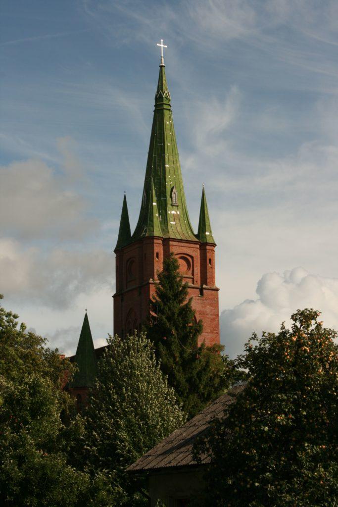 ReiseSpeisen Kuldiga Lettland Kirche