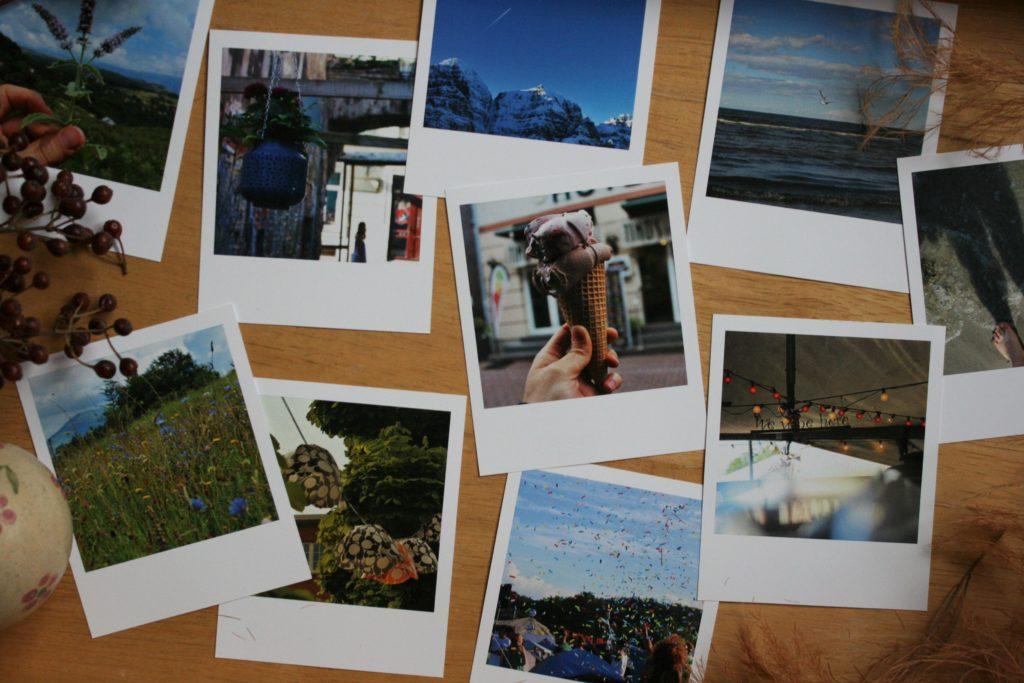 ReiseSpeisen Fotofabrik Polaroid