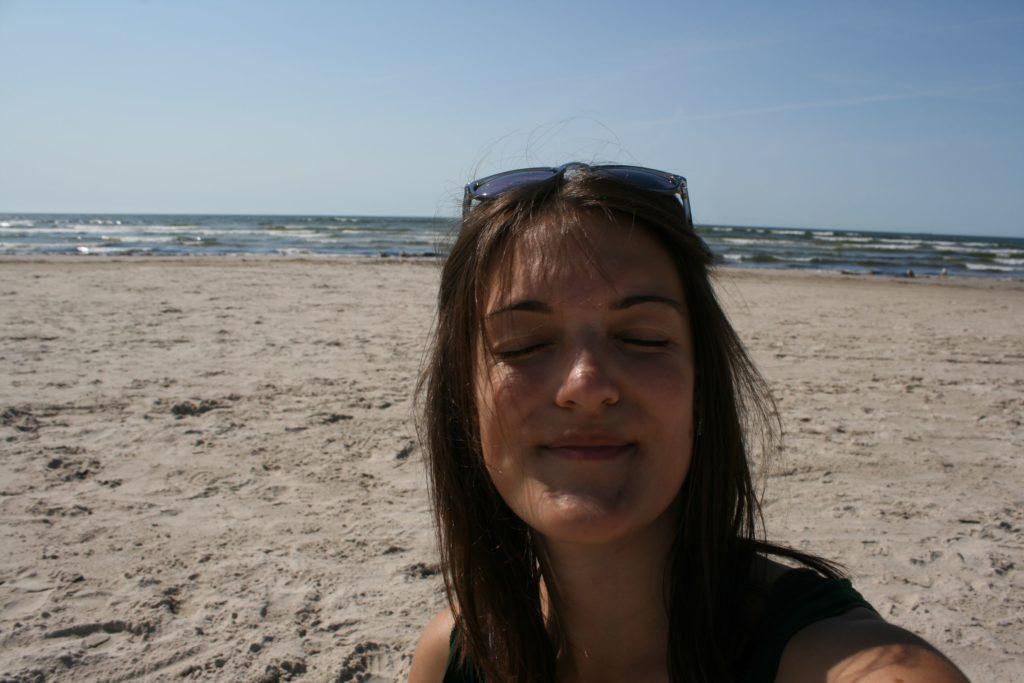 ReiseSpeisen I Lettland I Liepaja I Strand