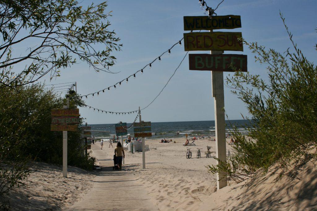 ReiseSpeisen I Lettland I Liepaja I Sandstrand