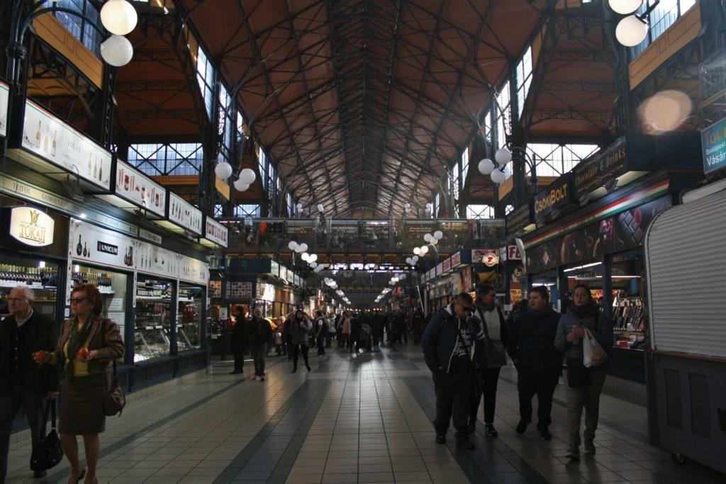 ReiseSpeisen I Budapest I Ungarn I Markthalle