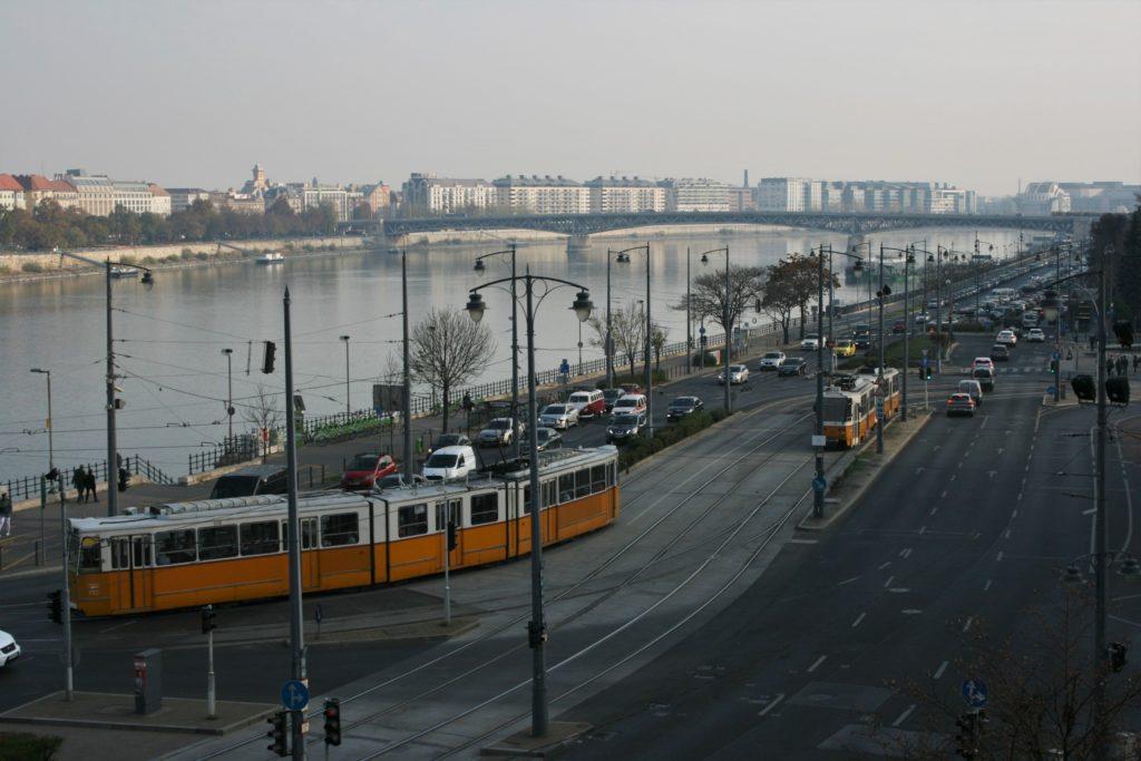 ReiseSpeisen I Budapest I Ungarn I Straßenbahn