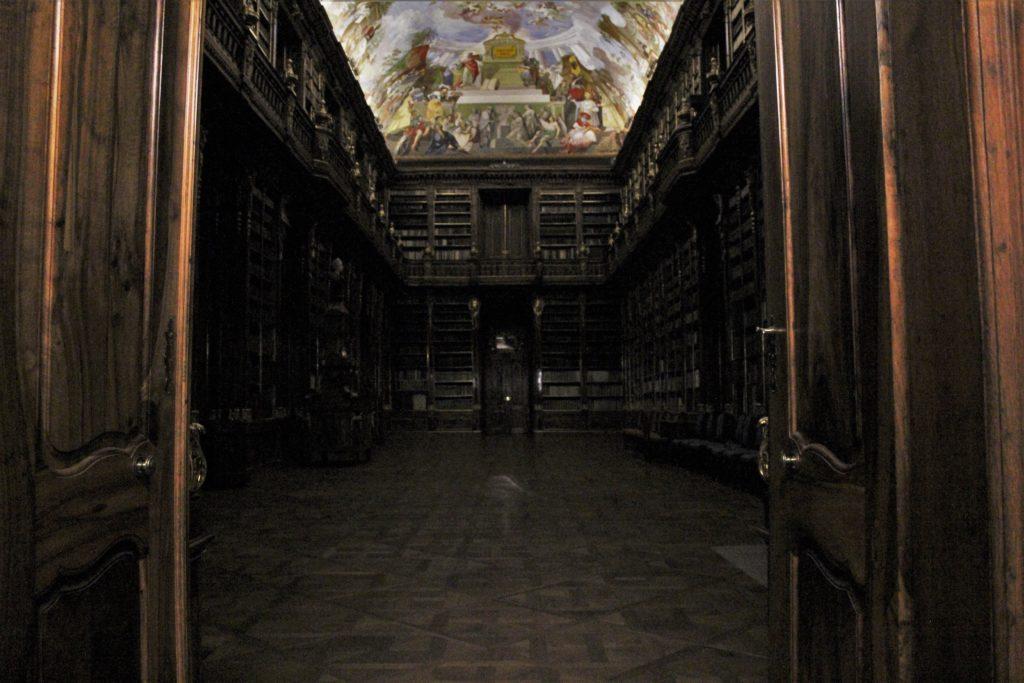 ReiseSpeisen I Prag I Tschechien I Klosterbibliothek