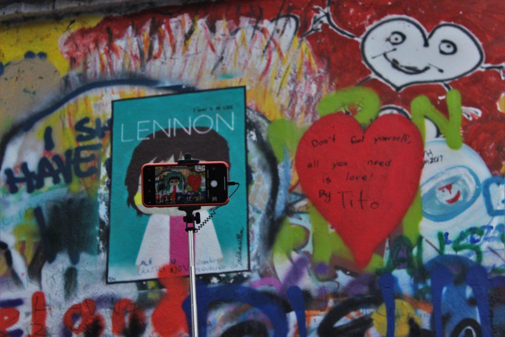 ReiseSpeisen I Prag I Tschechien I John Lennon Wall