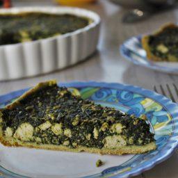 Vegane Quiche mit Spinat und Tofu – leichter als gedacht